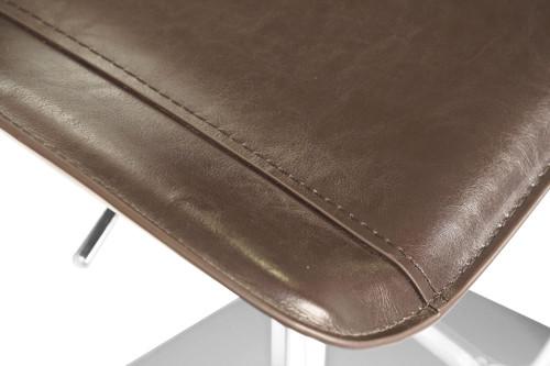 Favoloso Signature Real Leather Bar Stool Dark Espresso