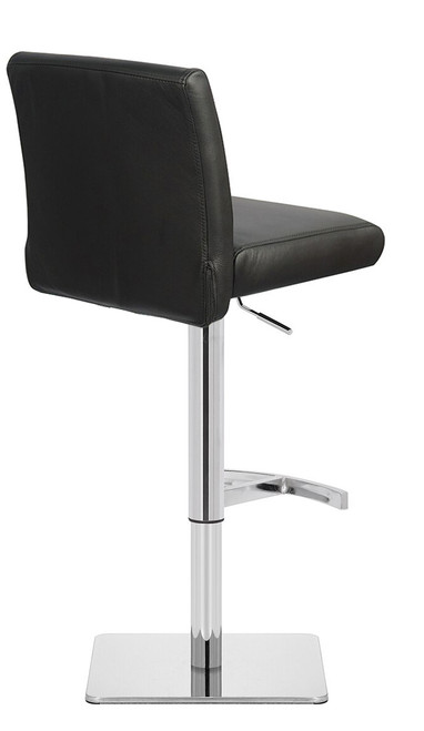 Deluxe Snella Crescent Bar Stool Black