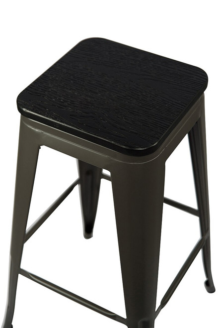 Tolix Bar Stool and Square Table Package