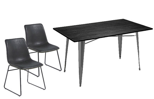 Antico Chair and Large Sardinia Table Package