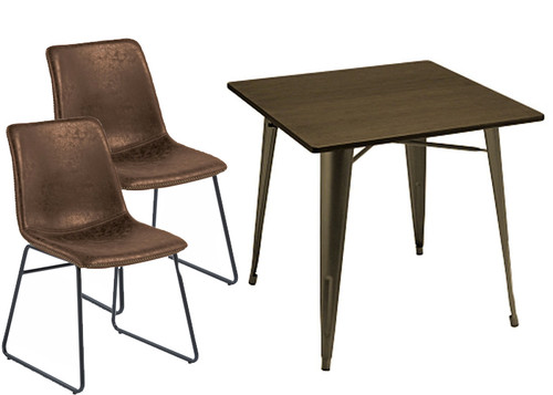 Antico Chair and Small Sardinia Table Package