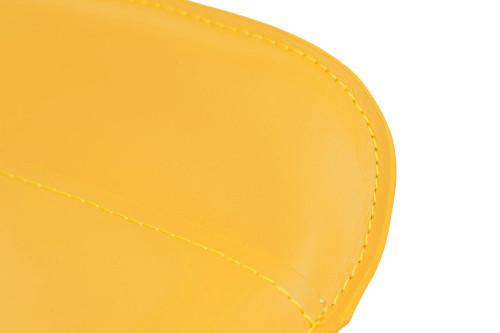 Favoloso Signature Real Leather Bar Stool Mustard