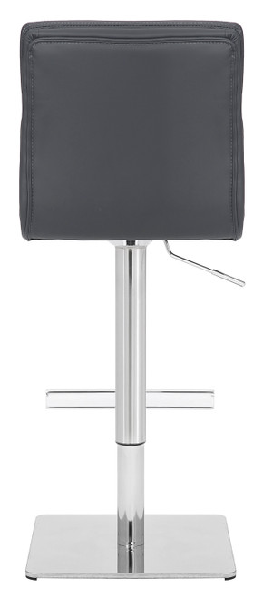 Deluxe Moderno Bar Stool Charcoal Grey