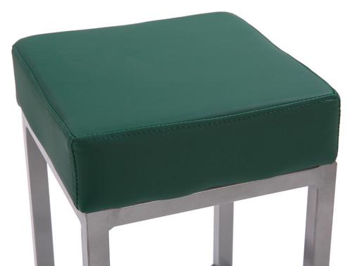 Cube Bar Stool Sage Green