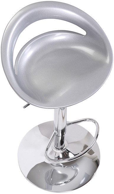 Sorrento Swivel Bar Stool Silver