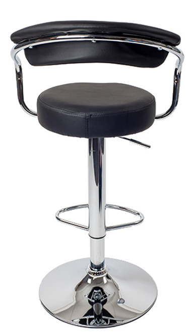 Zenith Bar Stool Black