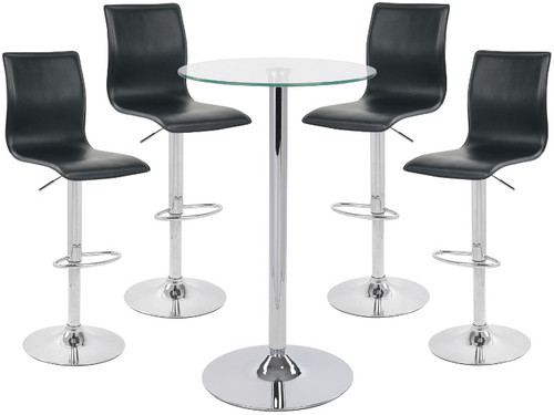 Giola and Como Table & Bar Stool Package
