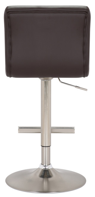 Allegro Brushed Bar Stool Brown