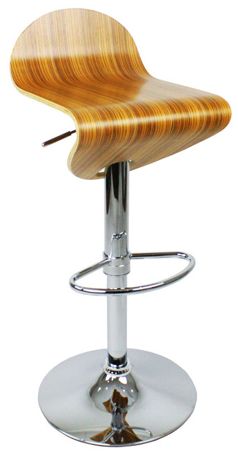 Abele Bar Stool Zebrano