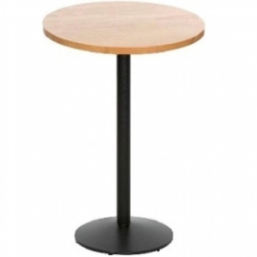 Fiero Poseur Table Round - Natural Ash