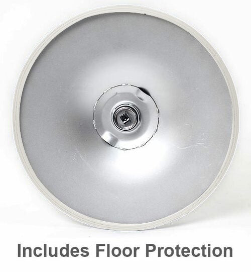 Como Poseur Table Round Clear Glass