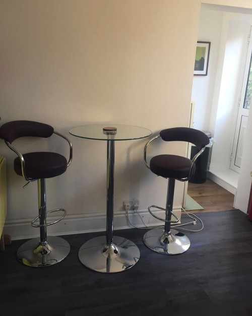 Zenith Bar Stool Purple