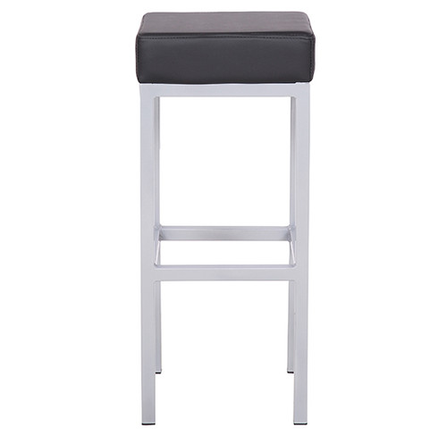 Sensational Cube Bar Stool Black Spiritservingveterans Wood Chair Design Ideas Spiritservingveteransorg