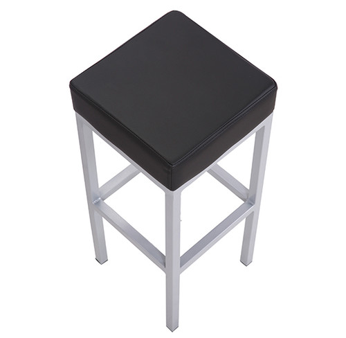 Cube Bar Stool Black