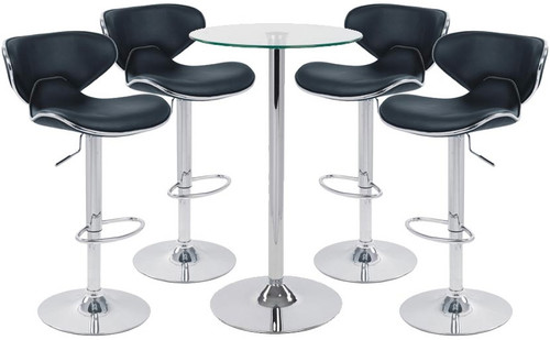 Carcaso Bar Stool and Como Table Package