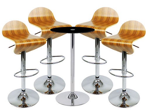 Abele Bar Stool and Como Table Package