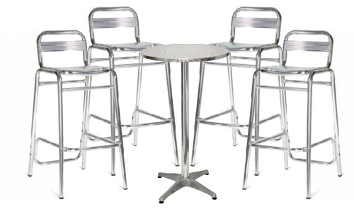Doncaster Outdoor Bar Stool and London Table Package