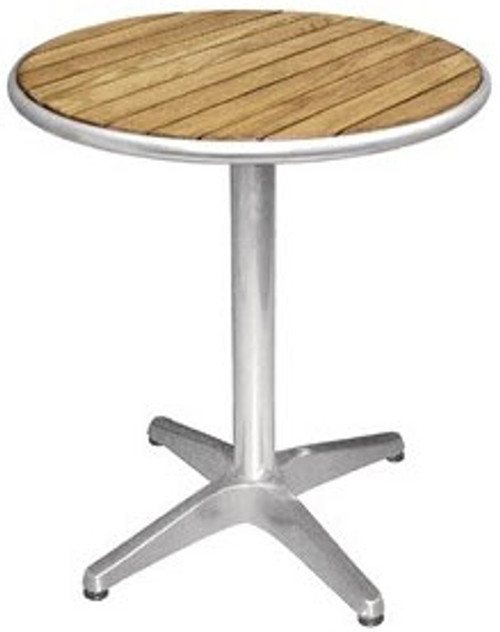 Round Ash Top Bar Table