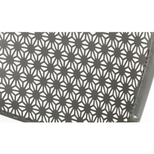 Wondrous Set Of 4 Patterned Bar Stools Grey Ibusinesslaw Wood Chair Design Ideas Ibusinesslaworg