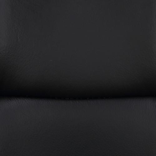 Deluxe Allegro Leather Bar Stool Black