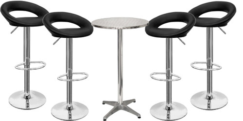 Sorrento Kitchen Bar Stool and London Table Package