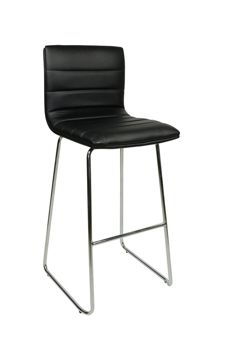 Aldo Fixed Height Curved Bar Stool and Como Table Package