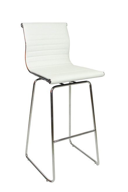 Rovigo Fixed Height Curved Bar Stool and Como Table Package