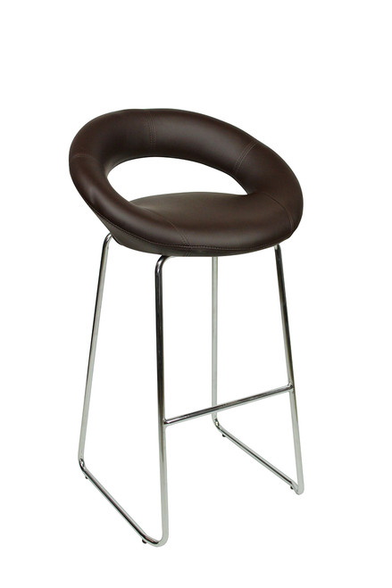 Sorrento Kitchen Fixed Height Curved Bar Stool and Como Table Package
