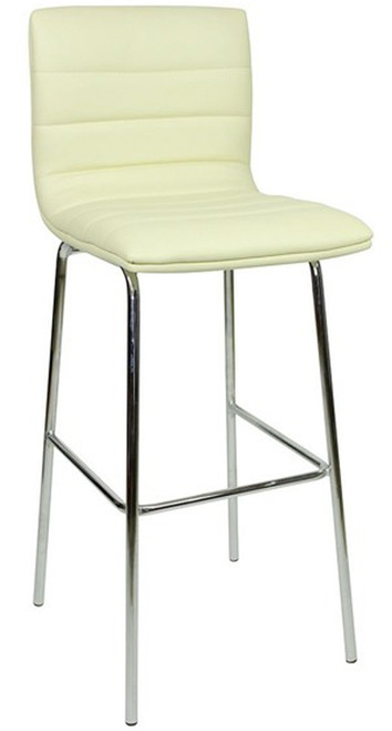 Aldo Fixed Height Bar Stools Cream