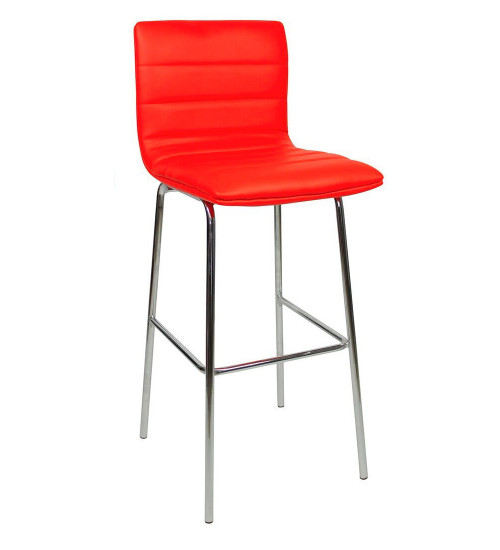 Aldo Fixed Height Bar Stools Red