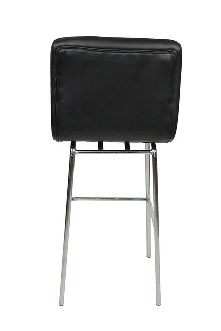 Allegro Fixed Height Bar Stools Black