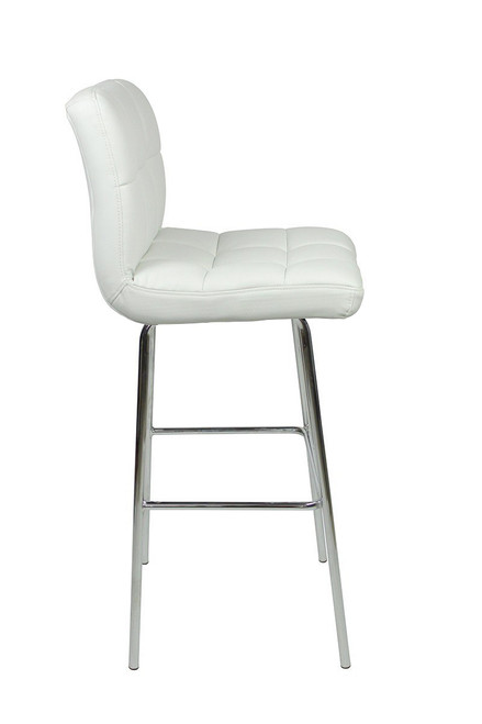 Allegro Fixed Height Bar Stools White