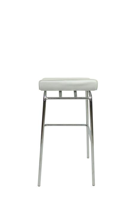 Baceno Fixed Height Bar Stools White