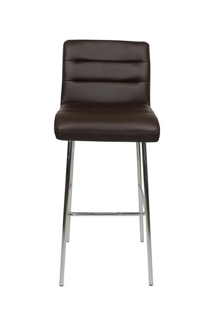 Luscious Fixed Height Bar Stools Brown