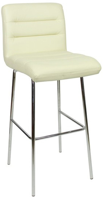 Luscious Fixed Height Bar Stools Cream
