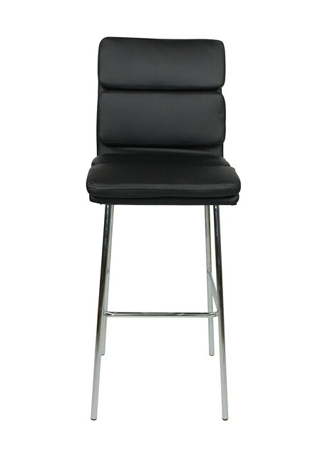 Moderno Fixed Height Bar Stools Black