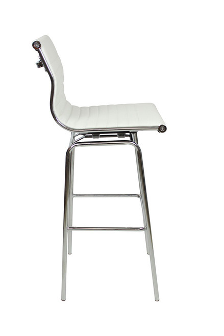 Rovigo Fixed Height Bar Stools White