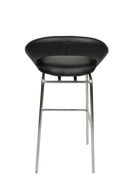 Sorrento Kitchen Fixed Height Bar Stools Black