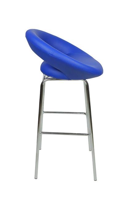 Sorrento Kitchen Fixed Height Bar Stools Blue