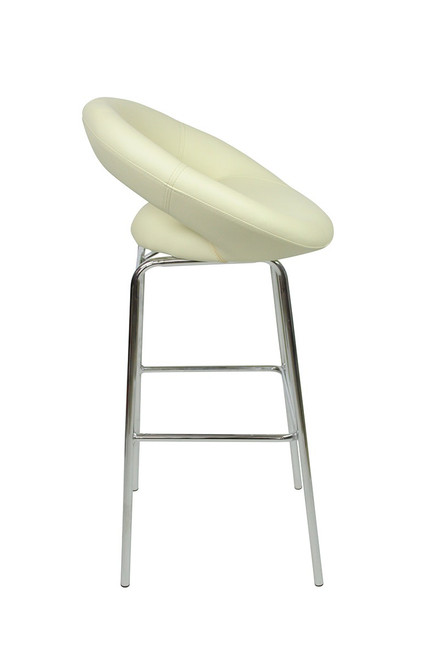 Sorrento Kitchen Fixed Height Bar Stools Cream