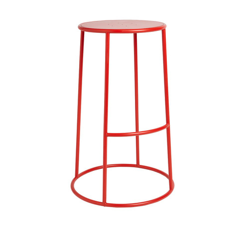 Max 75 High Stool Red
