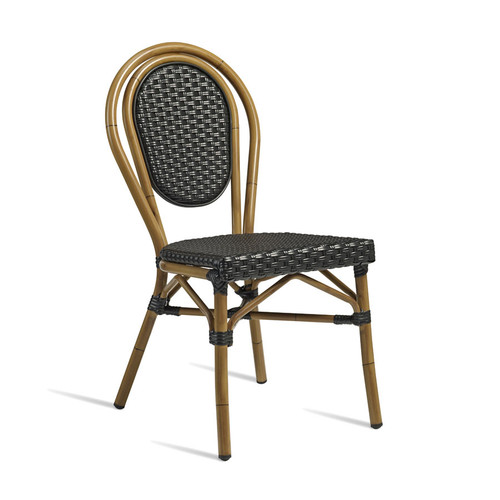 Time Side Chair Black
