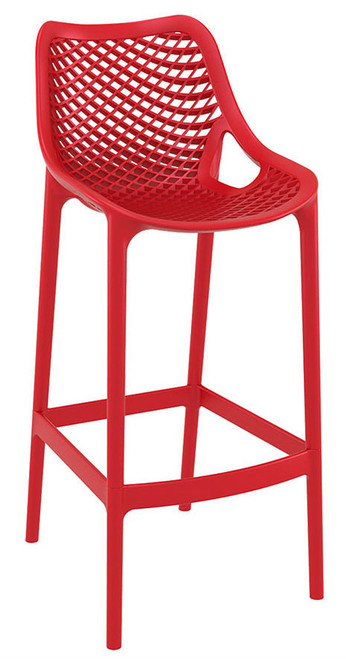 Spring Bar Stool Red