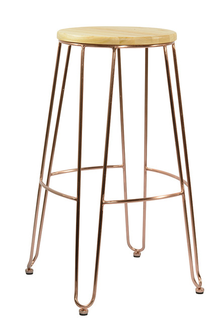 da Copper Bar Stool
