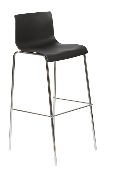 Black Kuadra Bar Stool