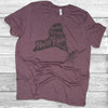 Thankful for (your state name here) Roots- Short Sleeve T-Shirt (More Color Choices and State Options)