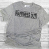 Alcohol In Happiness Out - Short Sleeve T-Shirt (More Color Choices)