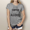 Step Aside Coffee This is a Job for Alcohol - Short Sleeve T-Shirt (More Color Choices)