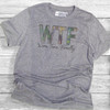 WTF - Wine Time Finally - Short Sleeve T-Shirt