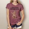 The Big Bad Wolf - Woman's Short Sleeve T-Shirt
